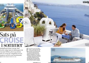 Travellers lookbook - Sats på cruise i sommer